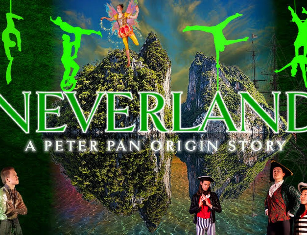 Come fly with us to Neverland