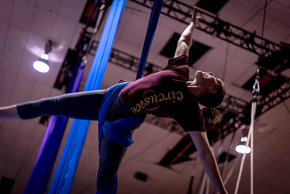 CLAIRE ON SILKS