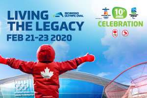 Living the Legacy: Olympic 10th Anniversary @ Richmond Oval | Richmond | British Columbia | Canada